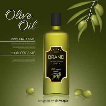 Olive oil advertisement