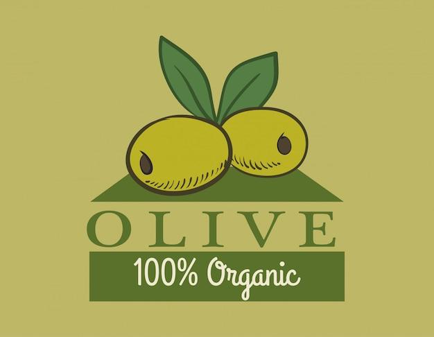 オリーブオイルのデザイン