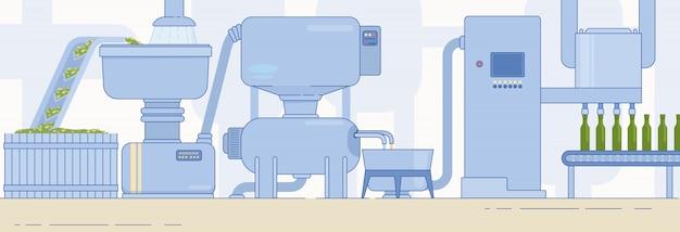 オリーブオイルの生産およびパッケージの工場設備