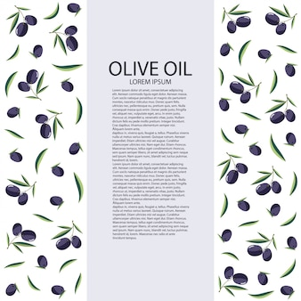 Olive oil on a white background.