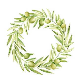 Оливковый венок