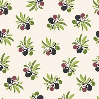 Olives pattern design