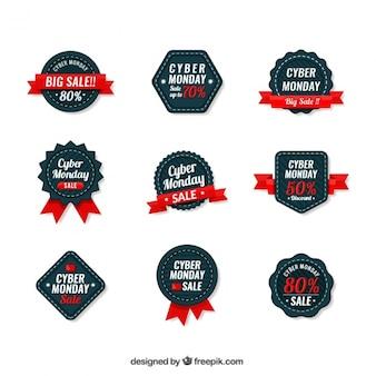 Ollection di cyber lunedi occupa badge