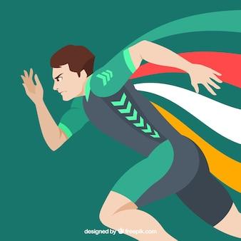 Corridore olimpico