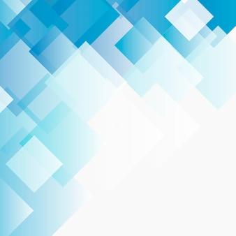 Sfondo di mosaico blu ombre