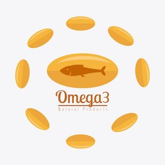 Omega  oil design.