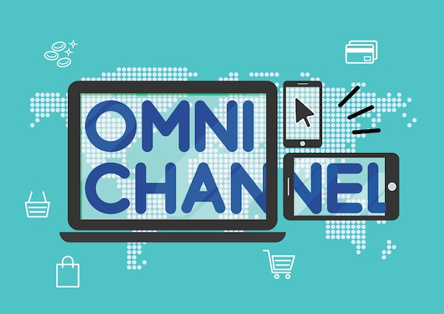 Omni channel marketing strategy shopping online