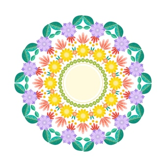 Onam floral decoration theme