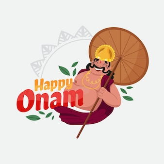 Onam illustration