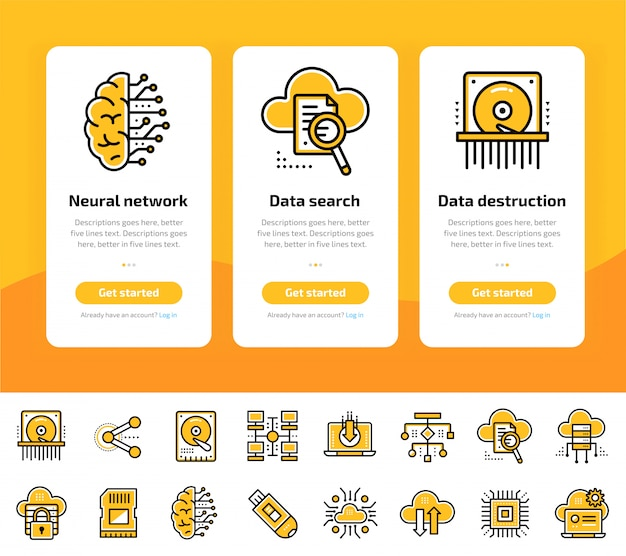 Бортовые экраны приложений с данными, интернет-технологиями и набором защищенных данных