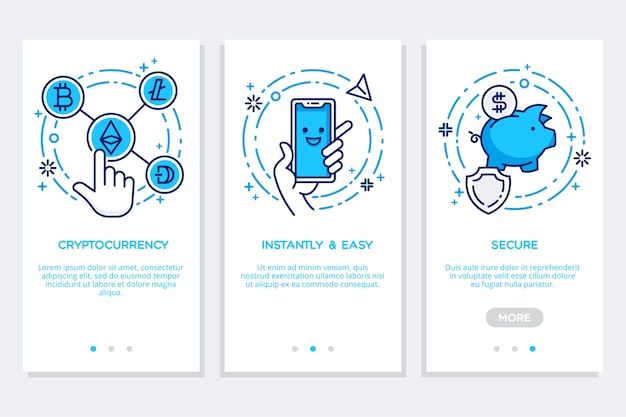 Onboarding mobile concept