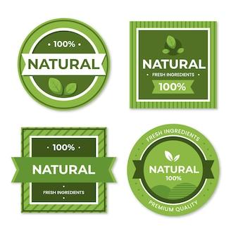 Стопроцентная коллекция натуральных этикеток