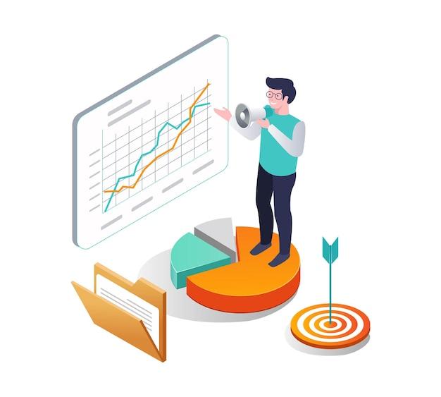 1つは、ビジネス分析データのキャンペーンです。