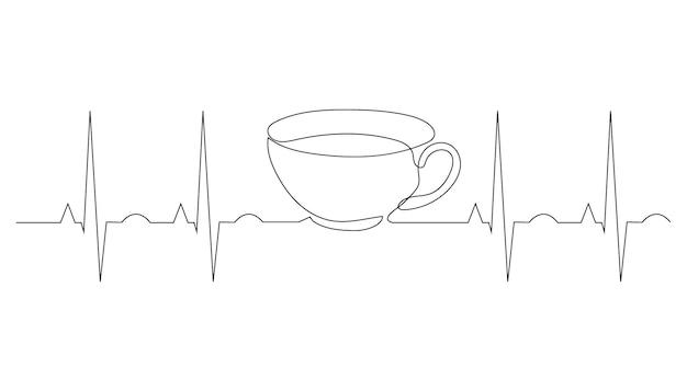한 줄의 커피와 심장 박동