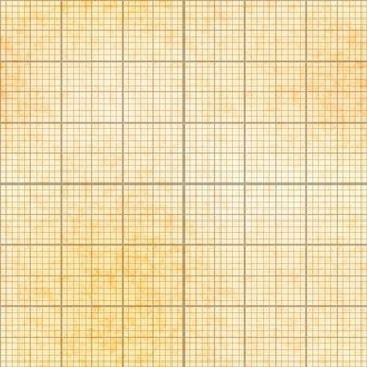 One millimeter grid on old paper with texture, seamless pattern