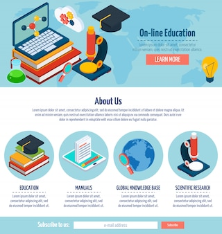 One page online education