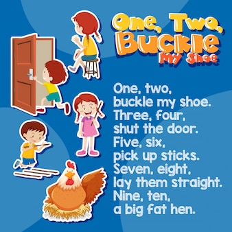 One two buckle my shoes song