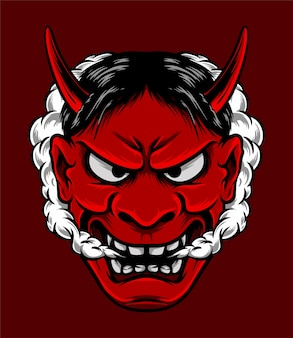 Они маска японского дьявола