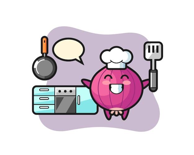 Onion, cute style design for t shirt, sticker, logo element