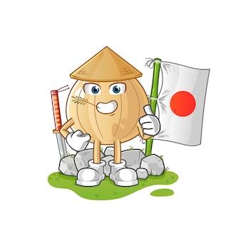 Лук японский мультипликационный персонаж