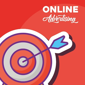 Online advertisign design
