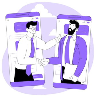 Online agreement or contract