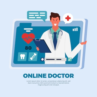 Online app doctor and patient consultation