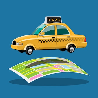 Online application for call taxi service