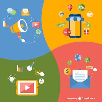 Online applications elements