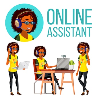 Online assistant african