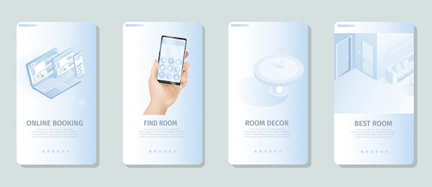Online booking find best room decor banners