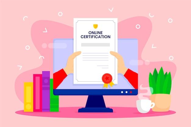 オンライン認証コンセプト