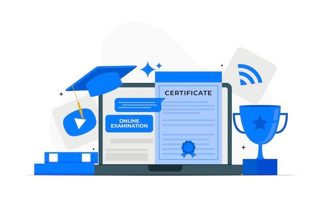 Online certification