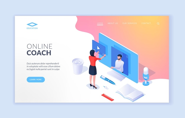 Сайт онлайн-тренера
