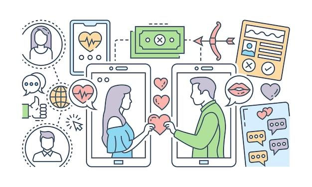 온라인 데이트