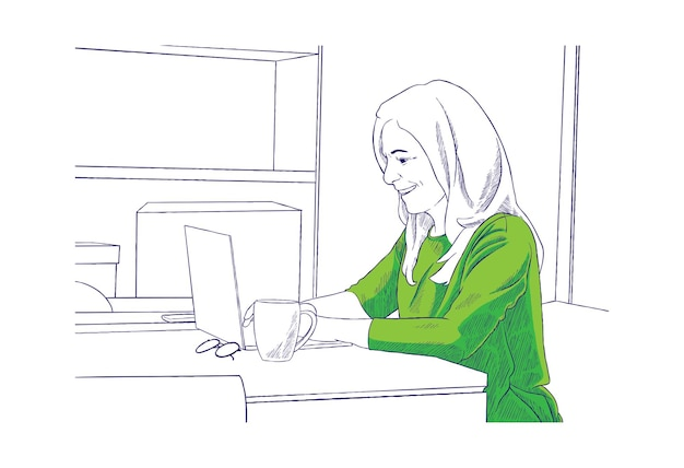 Иллюстрация для онлайн-обсуждения