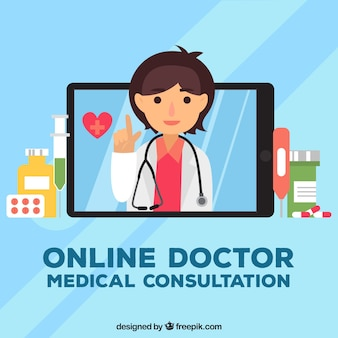Интернет-концепция врача