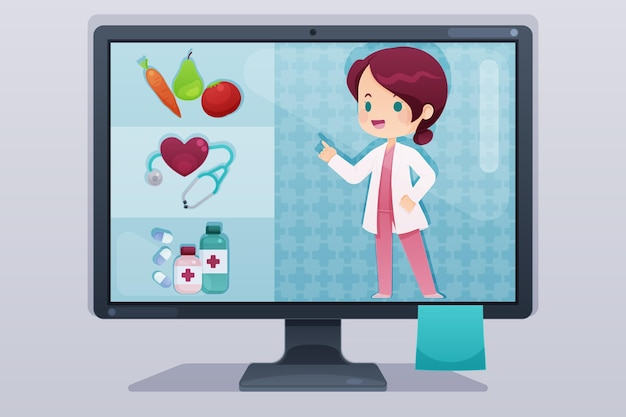 온라인 의사 개념