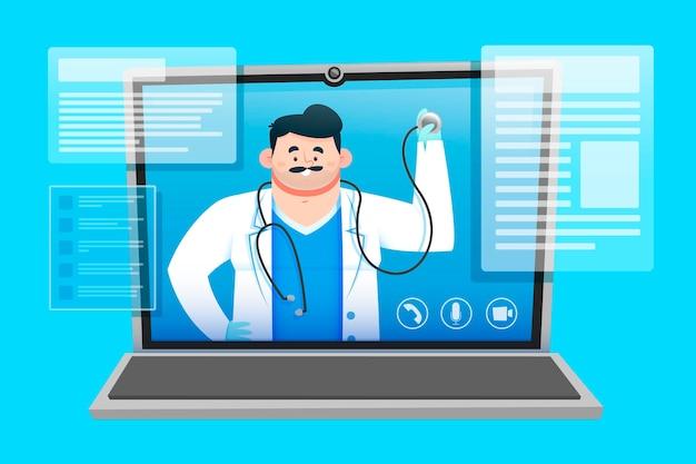 Concetto medico online