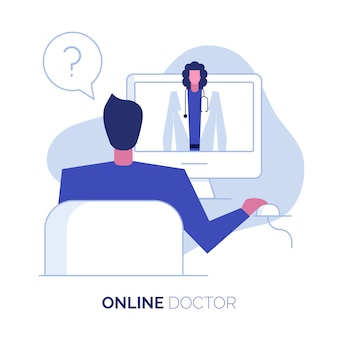 Online doctor consultation support