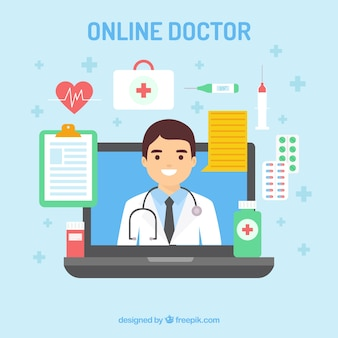 Online doctor design with various elements
