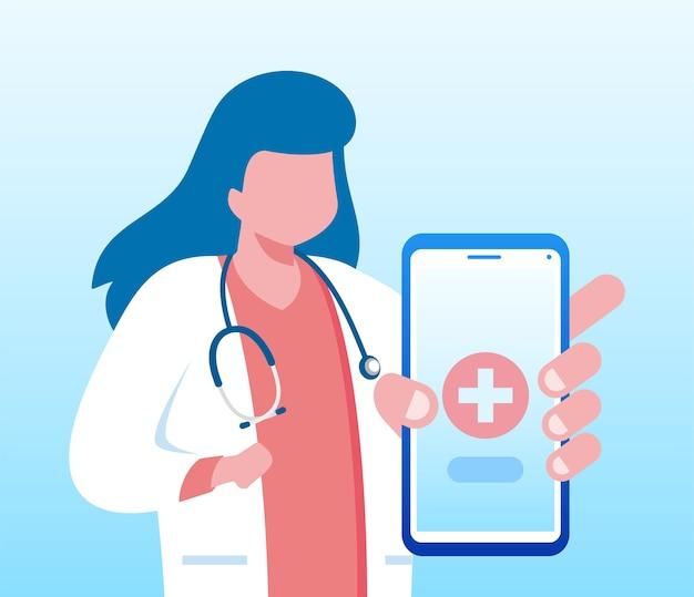 ガジェットとのオンライン医師の簡単な接続