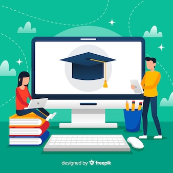 Online education background