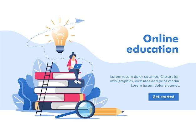 Online education or business training for mobile and web graphics