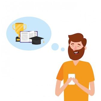 Мультфильм онлайн-образования