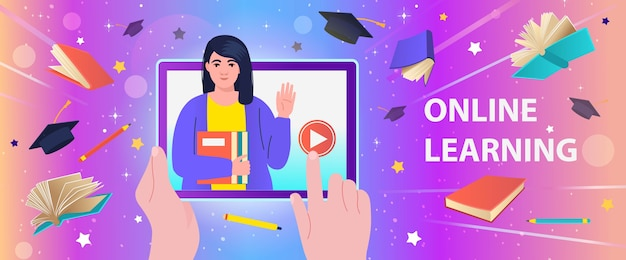 Онлайн-образование, курсы, обучение, электронное обучение, дистанционное обучение.