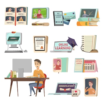 オンライン教育の要素