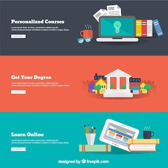 オンライン教育のインフォグラフィック
