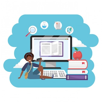 Online education millennial student