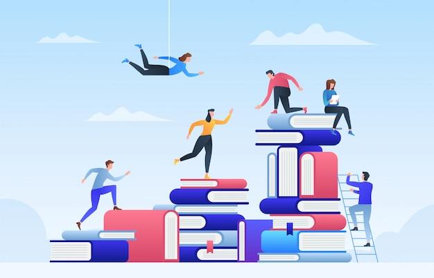 オンライン教育、スタッフのトレーニング、専門化、学習サポート